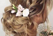 Esküvő haj
