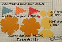 #1 SU Punch Ideas II / by Cindy Gitto-Wilson