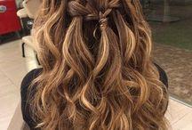 Konfis hiukset