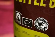 Ethical Coffee Sourcing / We know exactly where every bag of our coffee comes from and we regularly visit our farmers,