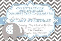 Liam's first birthday / by Ashley Ashbaugh