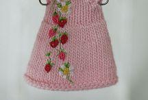 knitted clothes for BJD / Одежда спицами и крючком для бжд, других кукол и тедди