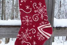 Knit Christmas Stockings / by Helen Mahan