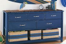 Bold Blues  / Interior Design accents with bold blue hues