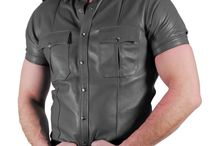 How to Wear a Leather Shirt