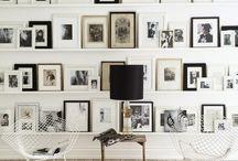 Home picture rail