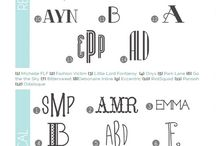 Monogramming / by Denise Owen
