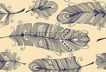Inspiration: Feathers / by Nichola Pitt Fibre Art