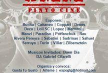 """Expo en Arteme """"8MM, Pintó Cine"""" / Invitación: Hoy 07/08, inaugura a las 20hs la expo en la que participo """"8 MM, Pinto Cine"""" en Arteme de Carlos Regazzoni. Av.del Libertador 405."""