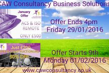 We Promote: CAW Consultancy / If You're looking for a consultancy service for Your Business needs Visit http://www.cawconsultancy.co.uk