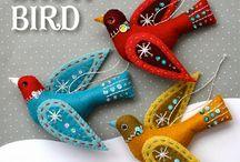Christmas Birds & Birdhouses