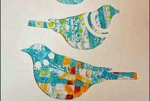 Gelli Printing Tutorials and Ideas / Tutorials, ideas and inspiration for gelli prints