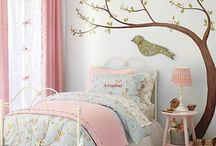 girls bedroom ideas / by Irish Greeting Cards