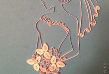 quilled lady