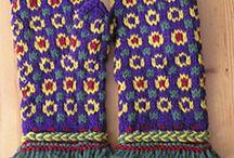 Brei inspiratie! /Knitting inspiration! / Een bord met inspirerende patronen en voorbeelden. Sinds kort brei ik weer, op een nieuwe manier: continentaal.