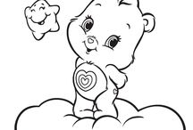 coloring carebears