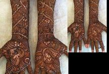 Unique Bridal Mehendi Ideas / Beautiful and never seen before mehendi ideas for the modern Indian bride