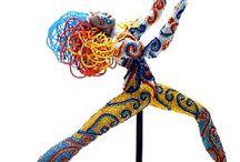 Beaded & Crochet Sculpture / Beaded Sculpture..WOW! / by Susan Greene