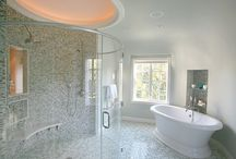 bathrooms / by The Spearmint Blogs