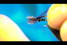 Tied ant for trout, chab