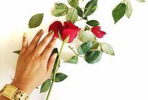 Floral Flatlays