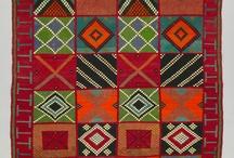 alfombras punto cruz