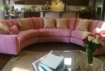 Sofas & love seats / Different types of sofas & love seats which EYM has reupholstered or repaired!