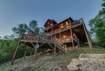 """Change in Altitude / This beautiful home perched high in the North Georgia Mountains, but easily accessible with all paved access up to the driveway, might just be what the """"attitude adjustment"""" calls for. Get away from the stress of everyday life in an area where fresh air, luxurious furnishings and natural beauty abound. The views from all three levels of this home are just stunning.  bit.ly/1kTtcCS"""