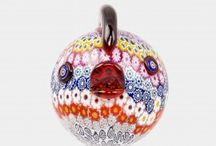 The Colorful Shapes of Glass / Artwork in Glass, Murano Glass and Murrina Collection from the famous island of Murano.