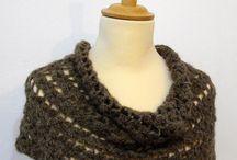 Crochet P&P / Handmade, small work in crochet...