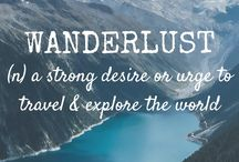 Wanderlust/Travel Thoughts/Inspiration/and Quotes