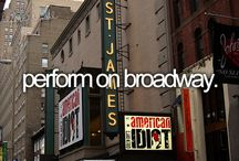 Broadway! / I LOVE BROADWAY!!!!!!!!!!!! / by Kinsley Ray