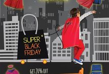 Black Friday Promotion / Who says #BlackFriday can only be the day after #Thanksgiving?  / by SuperME