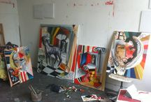 Miguel Cabezas / Miguel Cabeza's art works.