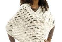 Knitting/crochet / Ponchos