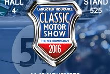 The Lancaster Insurance Classic Motor Show 2016 / If you've got a passion for motoring then head to the NEC this November to The Lancaster Insurance Classic Motor Show. With over 2,000 classic cars, 300 motorcycles, 600 trade stands, and the biggest indoor Autojumble plus incredible motoring features, it's the UK's biggest and best classic motoring celebration of the year!  We will be at Hall-4, Stand 525. Come over to our stand to see the best selling and latest products!
