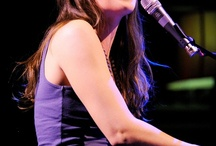 Sara Bareilles / She is my absolute favorite singer/songwriter  and this summer I got to see her in concert  she is seriously my favorite unrelated person on earth / by Sierra S