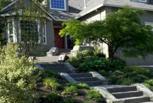 Front Entry Landscapes / Ideas for front entries for residential homes