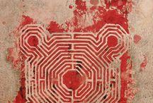 kunst / labyrinten en kunst