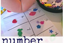 Daycare : letters & numbers