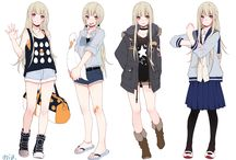 outfits anime girls