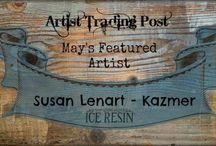 Susan Lenart Kazmer - May's Featured Designer