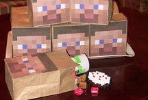 Minecraft goodie bag