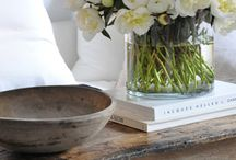 Vignettes and tablescapes / by Christine Abrams