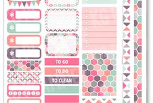 Stickers Planners