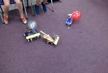 Robot wars birthday parties / Shows the robot wars parties and the robots that have been built