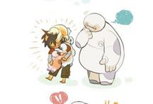 Baymax & Hiro