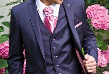 Inspirations mariage / Bleu marine et rose / Une association de couleurs hyper chic et moderne