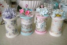 Altered spool / Cute little spools that will inspire you make one!