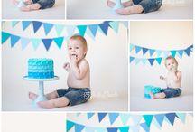 smash cake boy